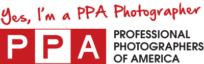 Yes, I am a PPA Photographer PPA Logo